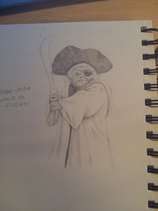 Yoda by rockart